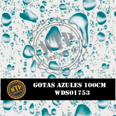 GOTAS AZULES 100 CM