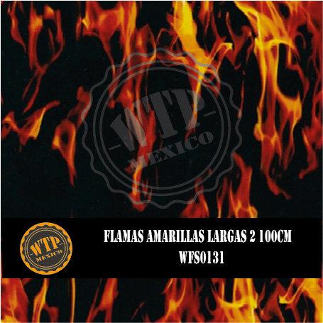 FLAMAS AMARILLAS LARGAS 2 100 CM