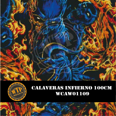 CALAVERAS INFIERNO 100 CM