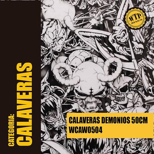 CALAVERAS DEMONIOS 50 CM