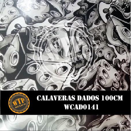 CALAVERAS DADOS 100 CM