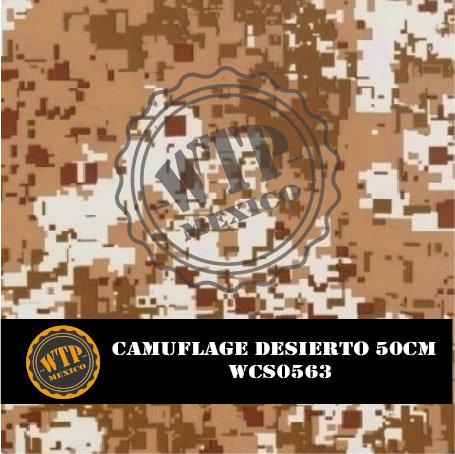 CAMUFLAGE DESIERTO 50 CM