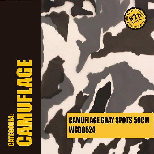CAMUFLAGE GRAY SPOTS 50 CM