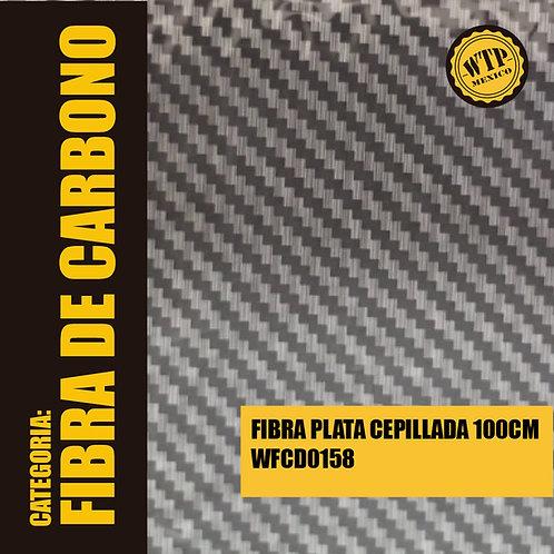 FIBRA PLATA CEPILLADA 100 CM