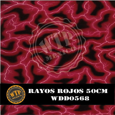 RAYOS ROJOS 50 CM