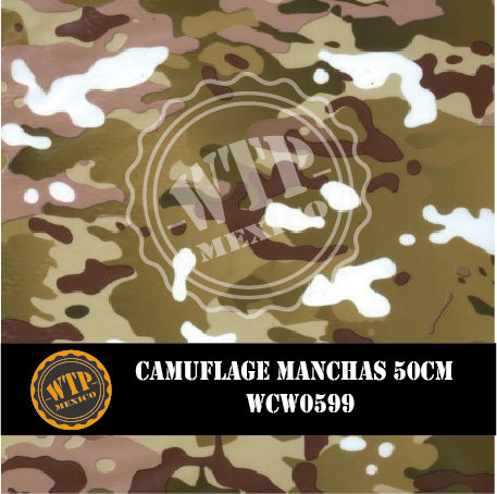 CAMUFLAGE MANCHAS 50 CM
