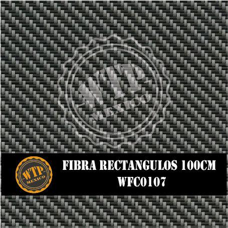 FIBRA RECTÁNGULOS 100 CM