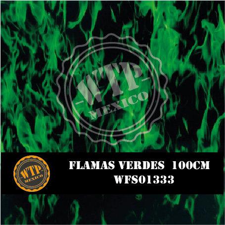 FLAMAS VERDES 100 CM