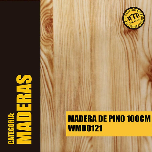 MADERA DE PINO 100 CM