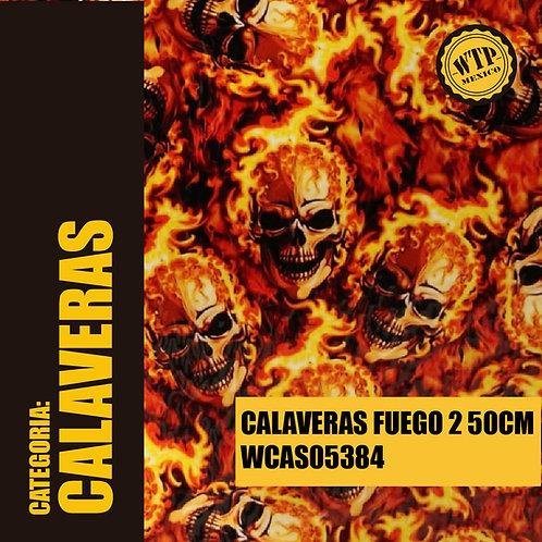 CALAVERAS FUEGO 2  50 CM