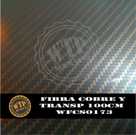 FIBRA COBRE Y TRANSPARENTE 100 CM