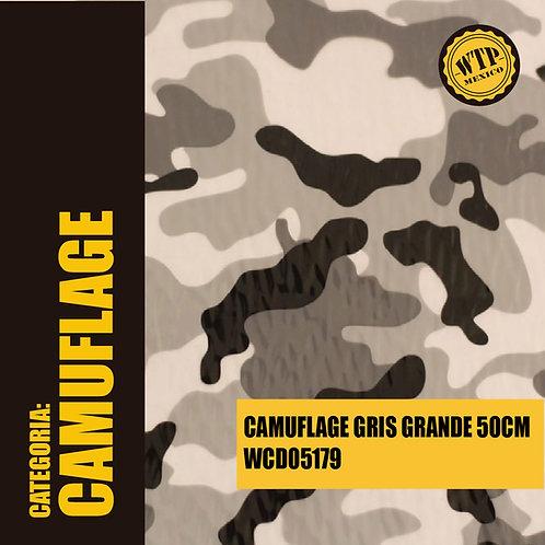 CAMUFLAGE GRIS GRANDE 50 CM
