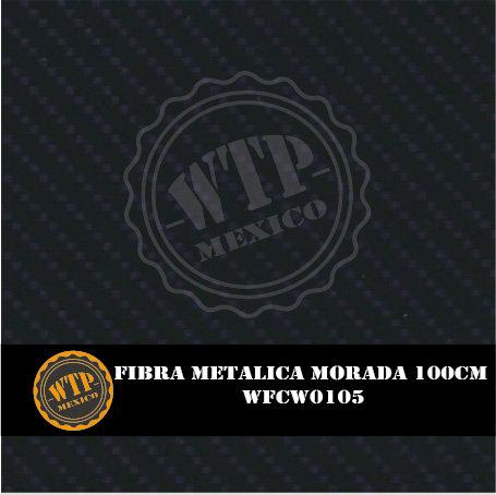 FIBRA METÁLICA MORADA 100 CM