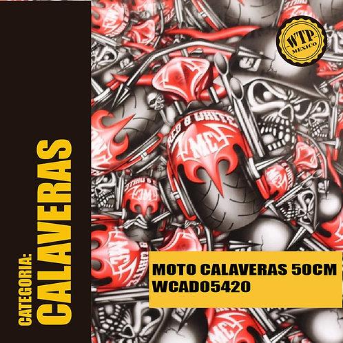 MOTO CALAVERAS 50 CM