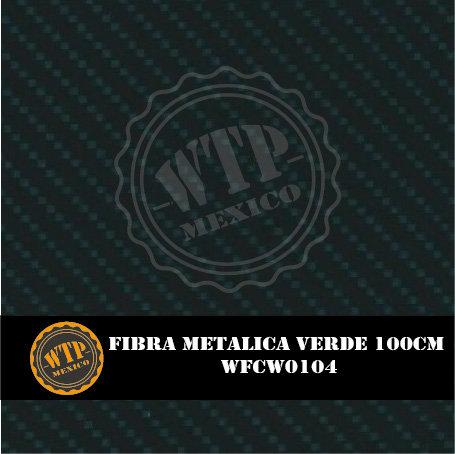 FIBRA METÁLICA VERDE 100 CM