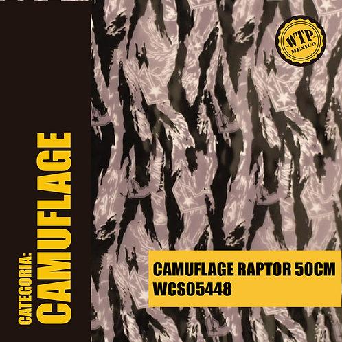 CAMUFLAGE RAPTOR 50 CM