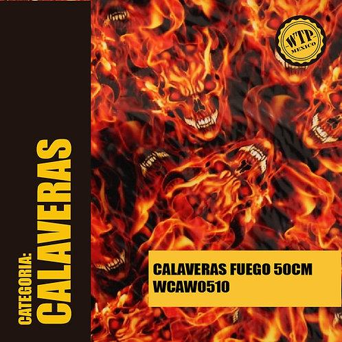 CALAVERAS FUEGO 50 CM
