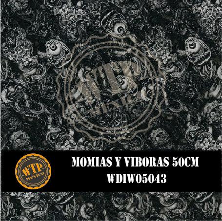 MOMIAS Y VIBORAS 50 CM
