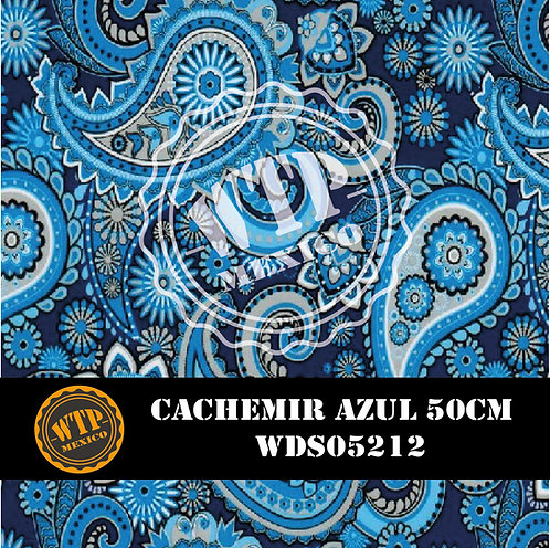 CACHEMIR AZUL 50 CM