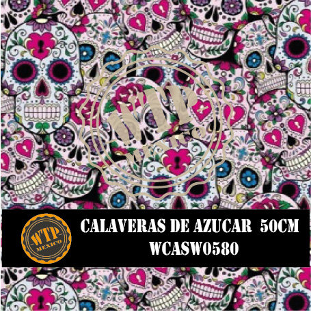 CALAVERAS DE AZUCAR 50 CM