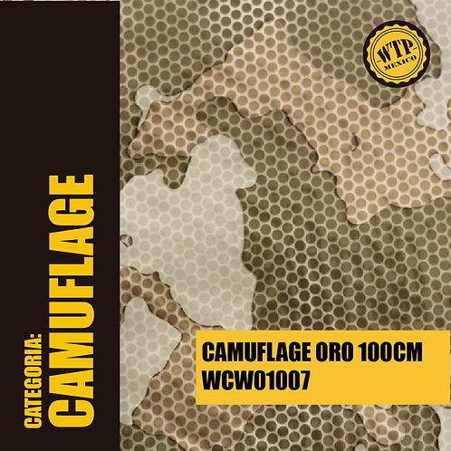 CAMUFLAGE ORO 100 CM