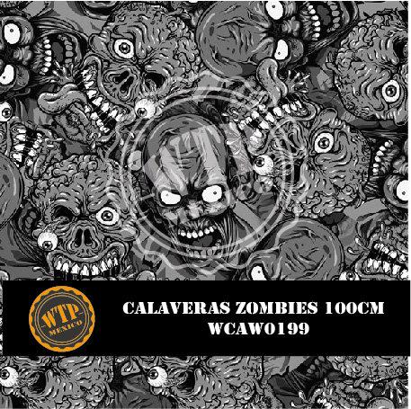 CALAVERAS ZOMBIES 100 CM