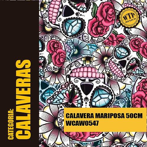 CALAVERA MARIPOSA 50 CM