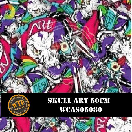 SKULL ART 50 CM