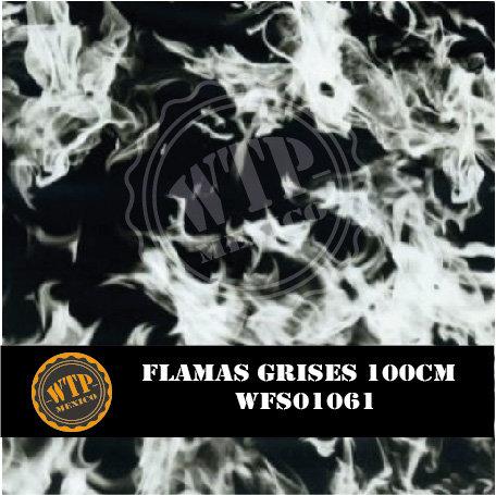 FLAMAS GRISES 100 CM