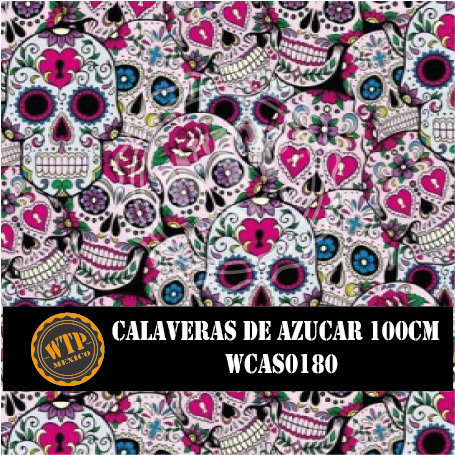 CALAVERAS DE AZUCAR 100 CM