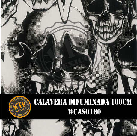 CALAVERA DIFUMINADA 100 CM