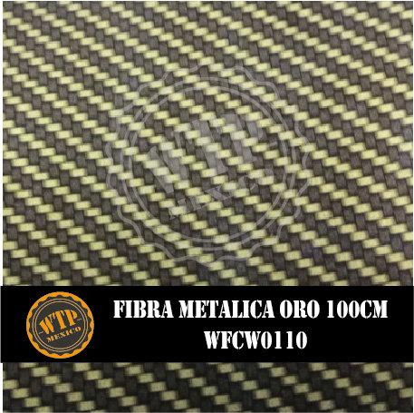 FIBRA METÁLICA ORO 100 CM