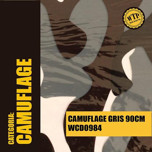 CAMUFLAGE GRIS 90 CM