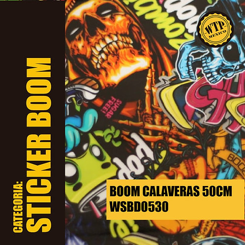 BOOM CALAVERAS 50 CM