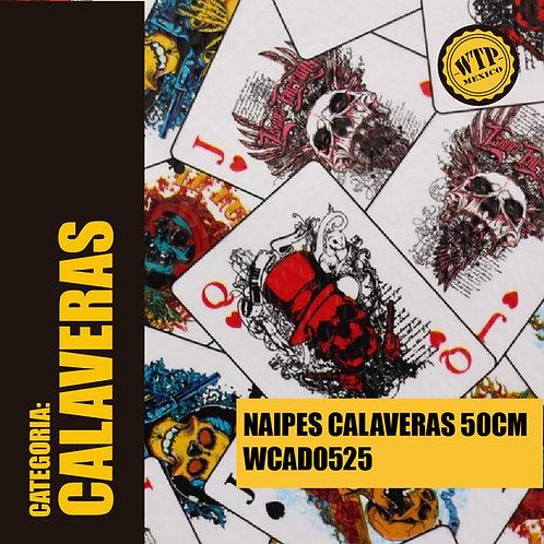 NAIPES CALAVERAS 50 CM