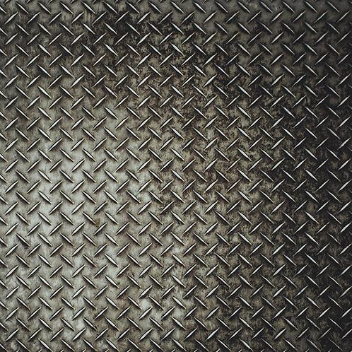 Steel Texture Printed Adhesive Vinyl
