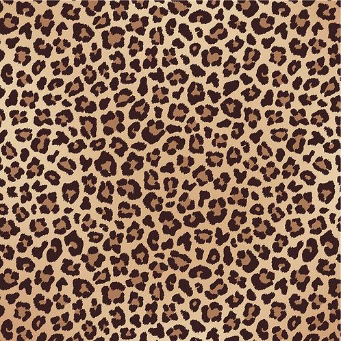 Cheetah Printed Adhesive Vinyl