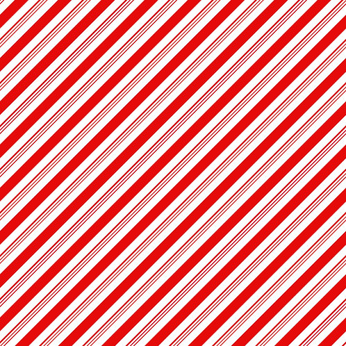 Candy Cane Stripes Adhesive Vinyl