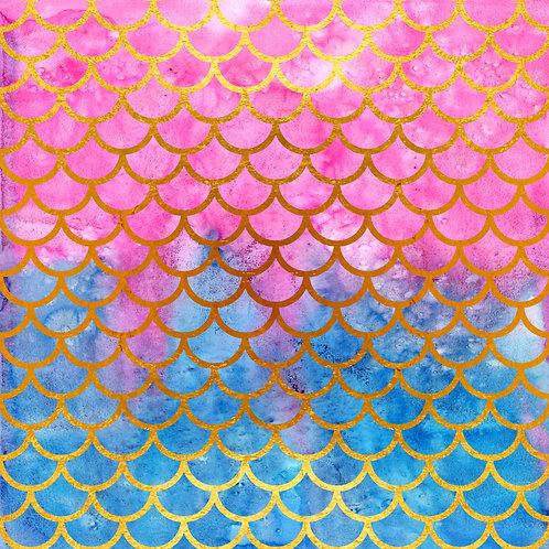 Mermaid Dreams Adhesive Vinyl