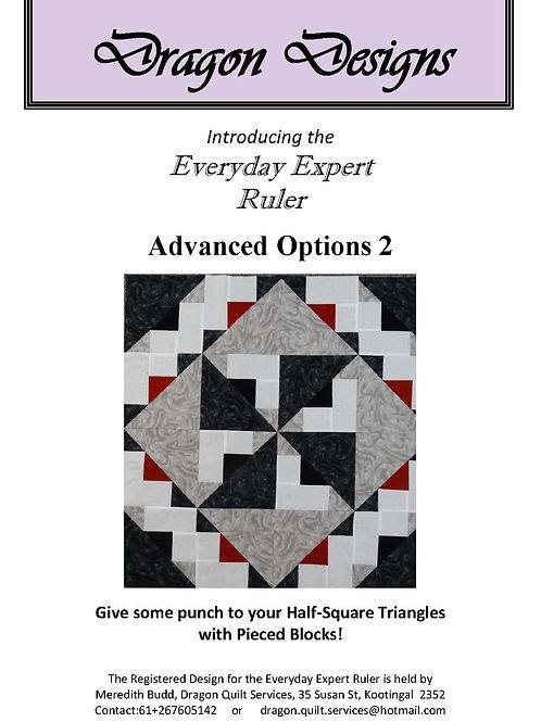 Everyday Expert Ruler Instruction Book - Advanced Options 2