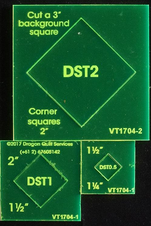 Diamond in a Square Template Miniature Set