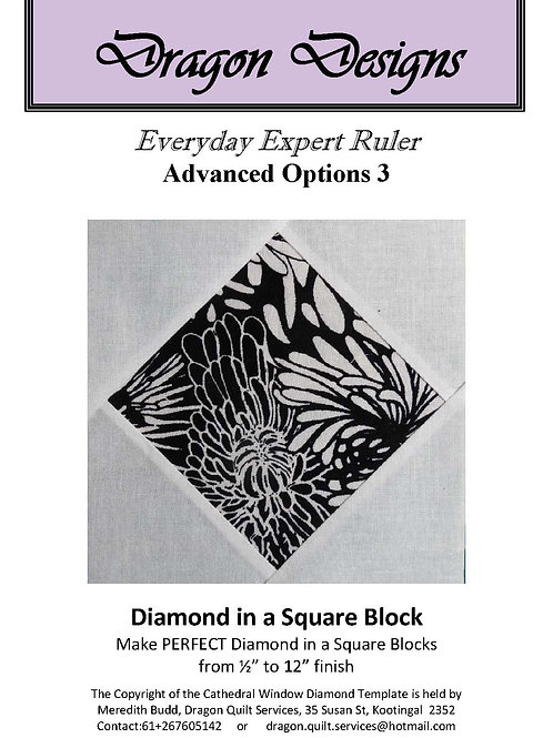 Diamond in a Square Instruction Book