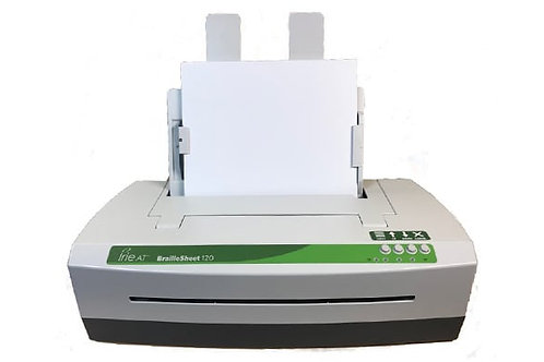 IRIE BrailleSheet 120 w/Power-Dot Braille