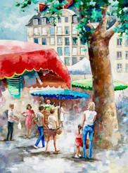 Marché de Nantes / 89x119 / 800 €