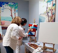cours de peinture Nantes