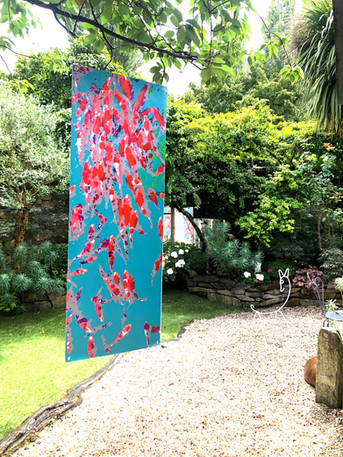 Red fish / 62x172 / 130 €