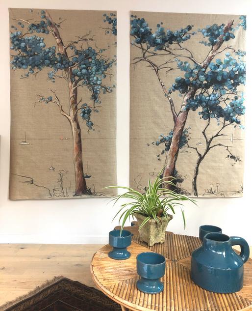 Peinture - Arbre de vie 1 et 2