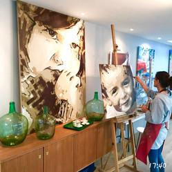 Atelier de Mathilde Grimaud à Nantes