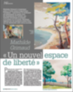 mathilde grimaud magazine pratique des arts
