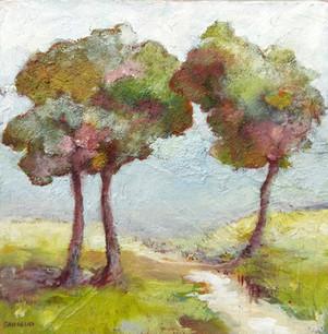 3 arbres / 20x20 / vendu